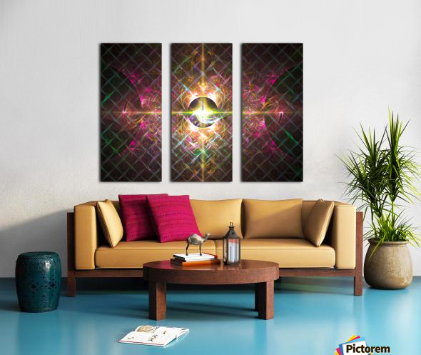 Pulse Split Canvas print
