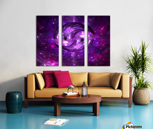 Unity 2 Split Canvas print