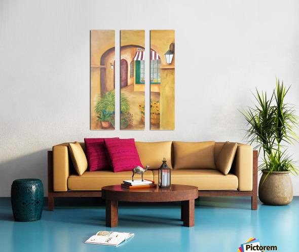 Boulangerie Split Canvas print