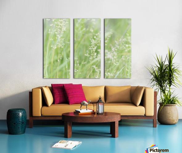 Herbe haute Split Canvas print