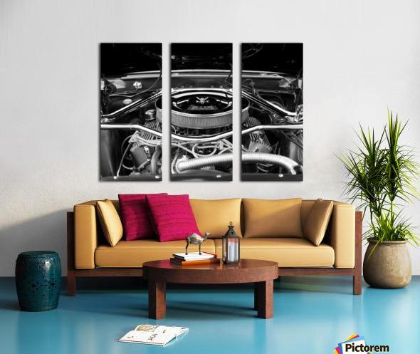 351 Mustang Split Canvas print