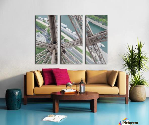 Tour Eiffel Split Canvas print