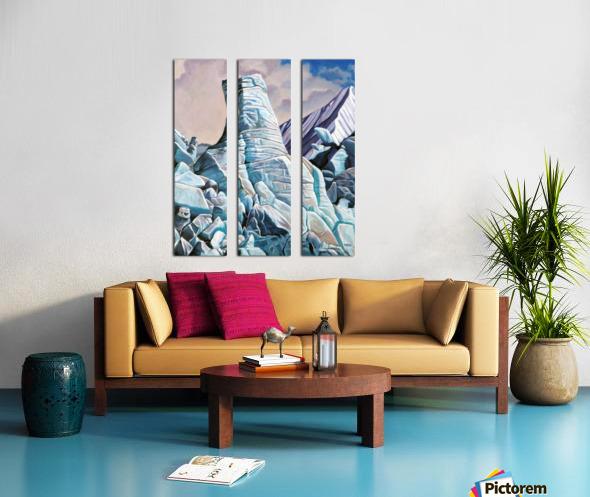 Glacier 3 Split Canvas print