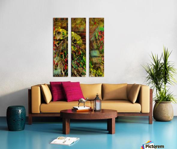 Stash Split Canvas print