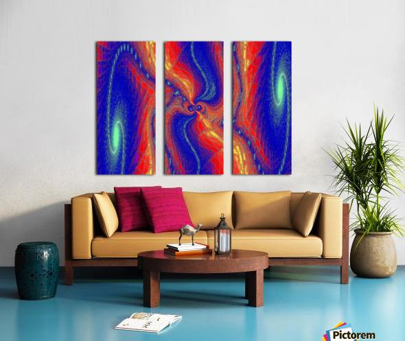 Lotus Of Movement  Split Canvas print