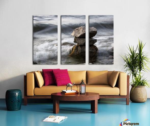 Desktop Split Canvas print