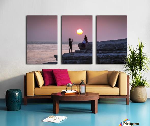 Photo opportunity at Nash Point Split Canvas print