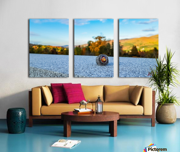 One for the Ring-- Autumn Split Canvas print