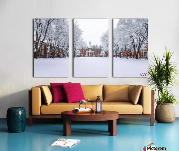 Upper Parade Ground- Winter Split Canvas print