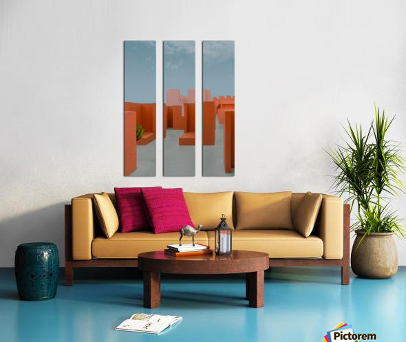 Monument Valley Split Canvas print