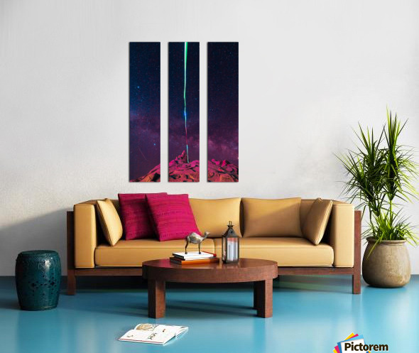 Light Split Canvas print