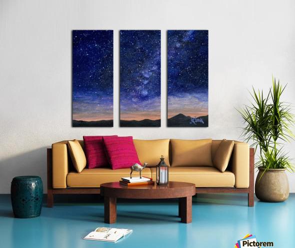 Stargazer Split Canvas print