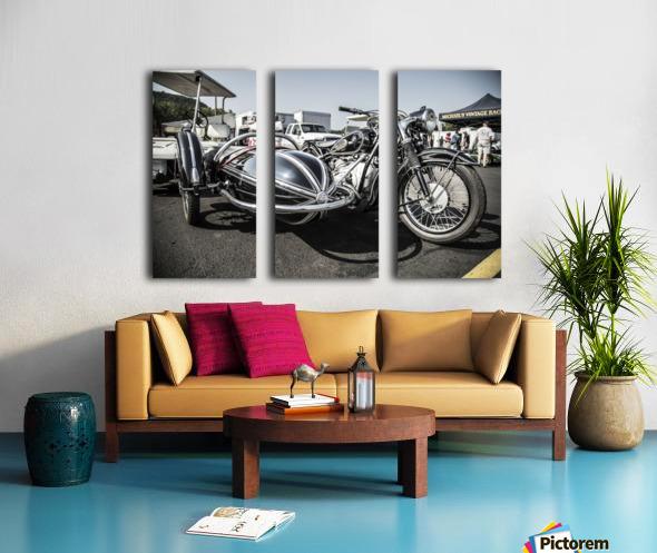 Motorcycle  Split Canvas print