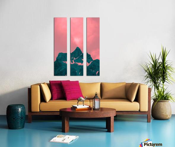 Firn Split Canvas print