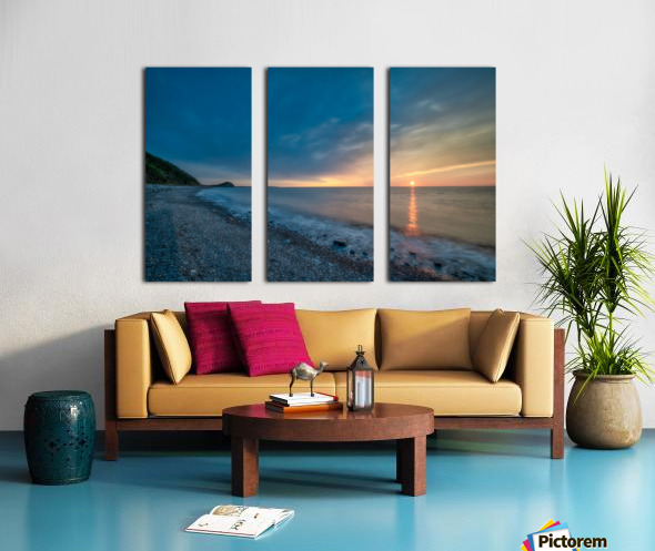 La Bloc Glory Split Canvas print