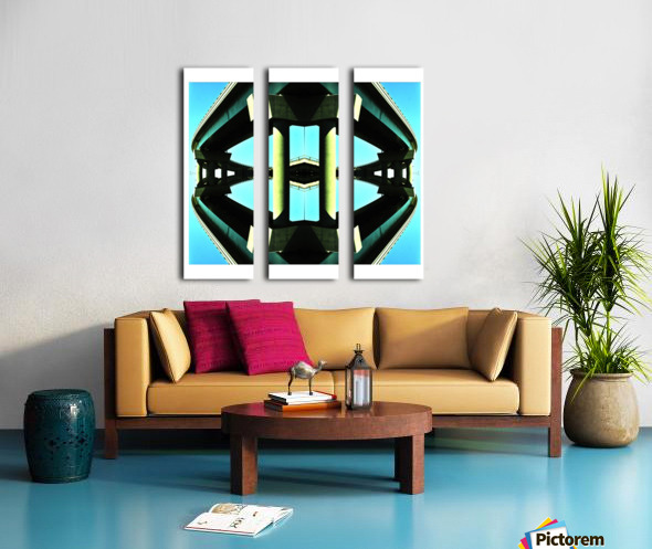 H Split Canvas print