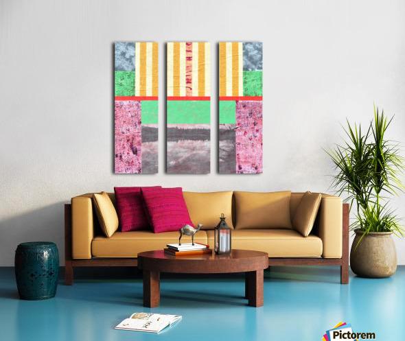 Reflective Mood Split Canvas print