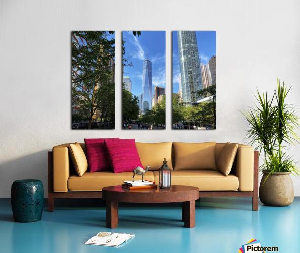 One World Trade Center Split Canvas print