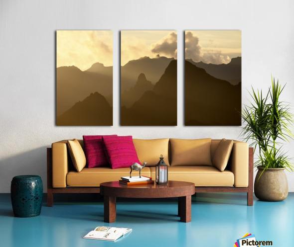 Kilimanjaro at Dusk Split Canvas print