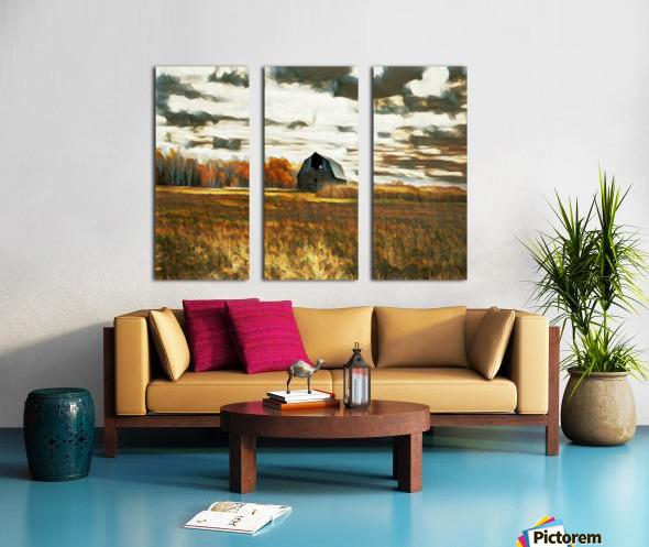 barn um lisadrewphotos Split Canvas print
