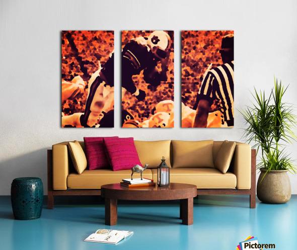 1982 Bo Jackson Tennessee Dive Split Canvas print