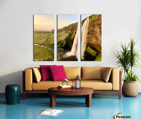 Seljalandsfoss Split Canvas print