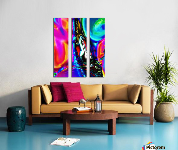 Filibro Split Canvas print