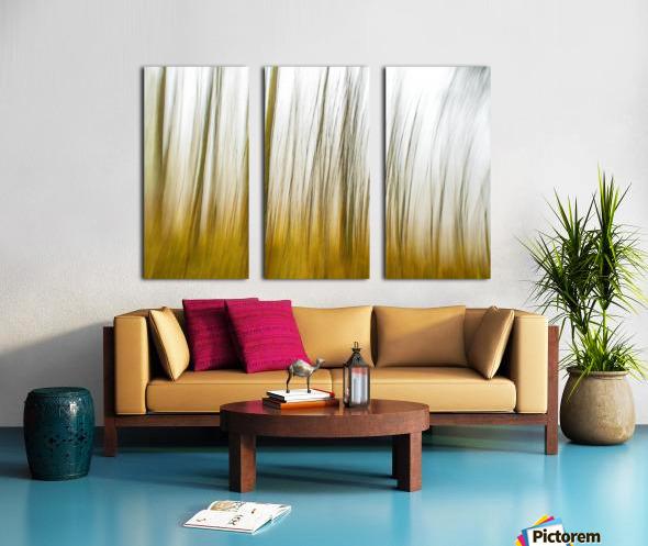 Tree Dreams in Orange Split Canvas print