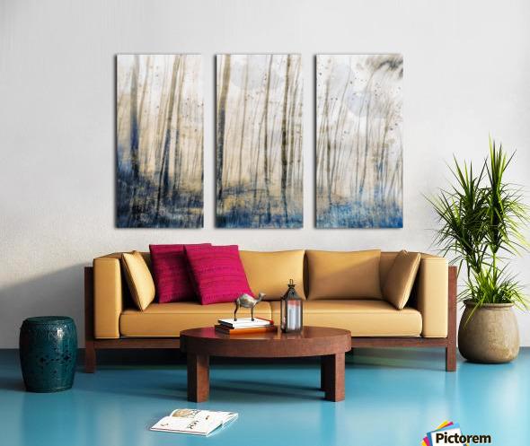 Tree Dreams in Blue Split Canvas print