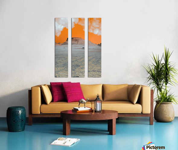 Ghost City Split Canvas print