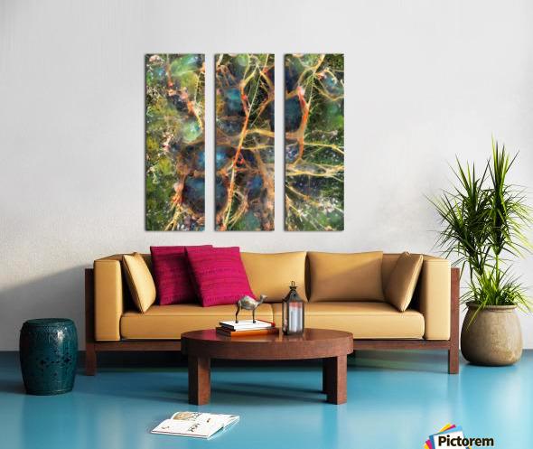 Composicion120 Split Canvas print