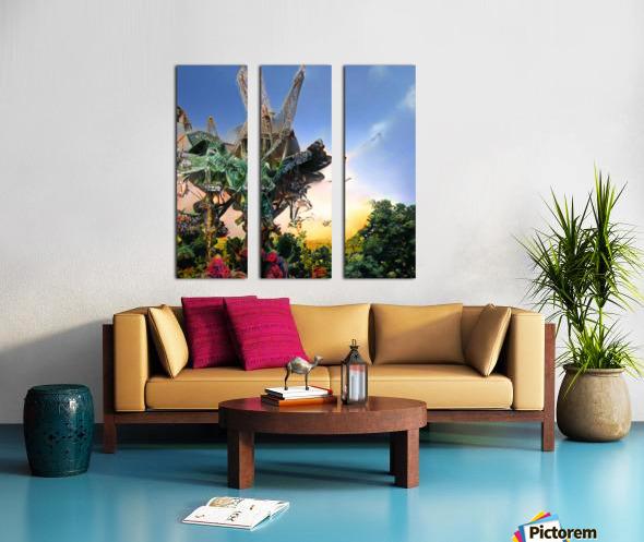 Composicion10077 Split Canvas print
