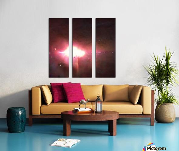 Composicion100569 Split Canvas print