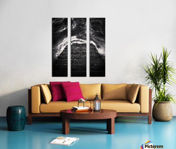 Descend and Ascend Split Canvas print