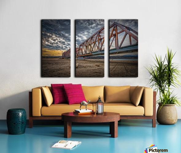 Pont de fer Haldimand Split Canvas print