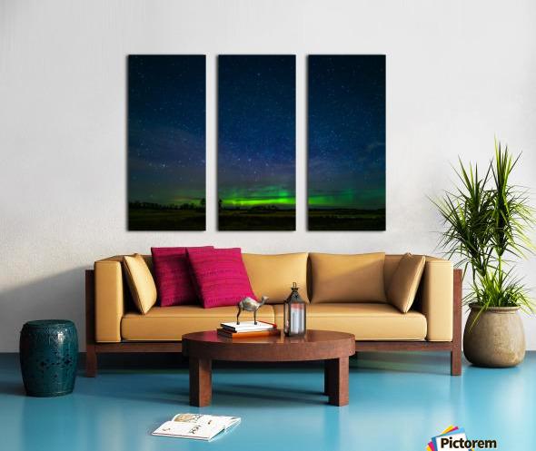 Northern Lights MN Split Canvas print