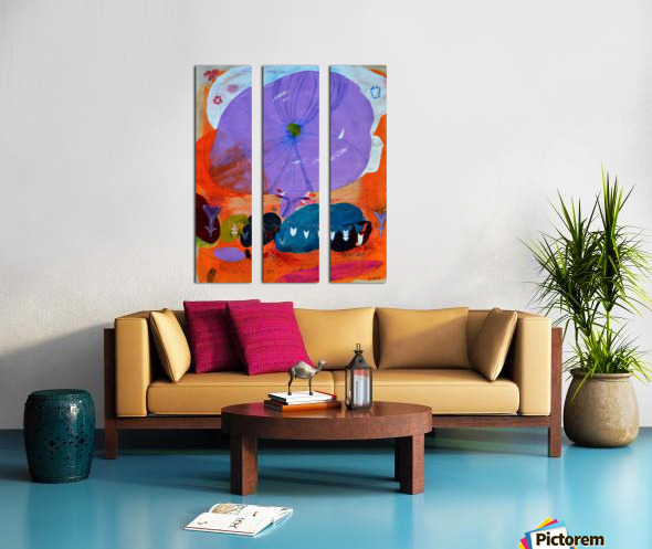 I Am Here To Hear Your Voice Split Canvas print