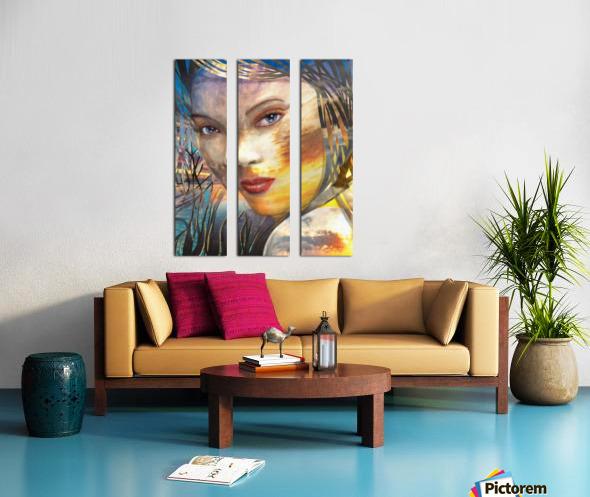 GOLDEN SUNRISE Split Canvas print