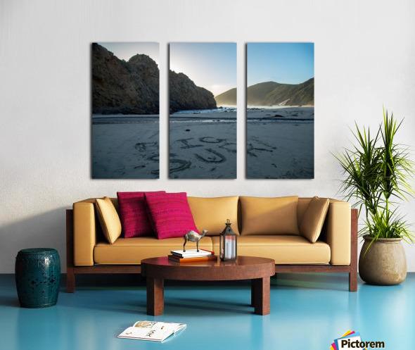 Big Sur Split Canvas print