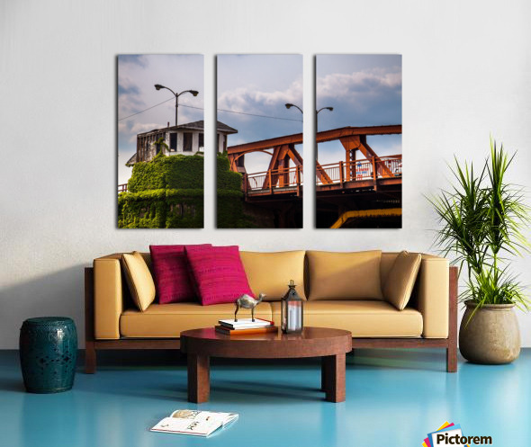 Chicago Split Canvas print
