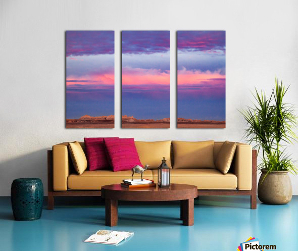 Light Banding Split Canvas print