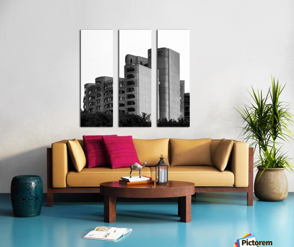 Architect Split Canvas print