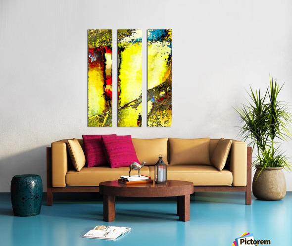 Flipo Split Canvas print