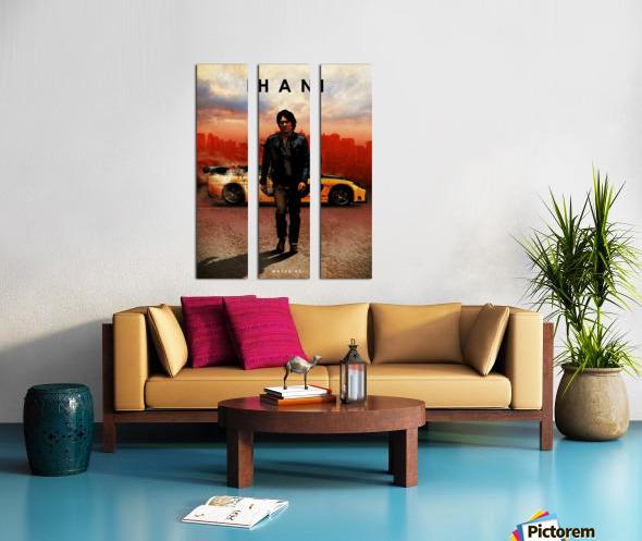 Han Lue Split Canvas print