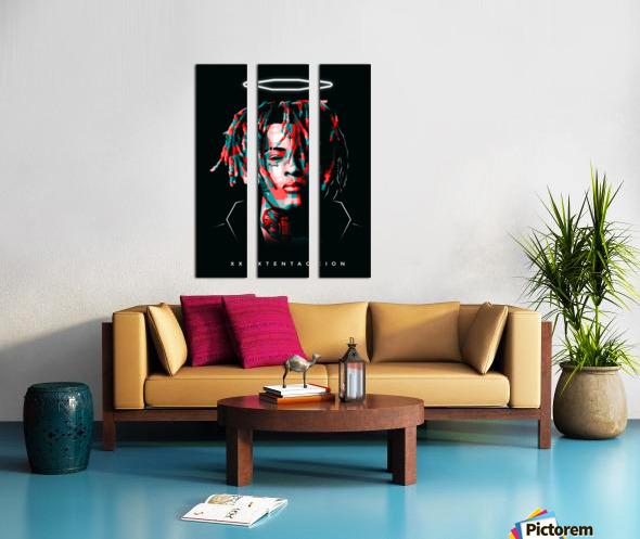 xxxtentacion Split Canvas print