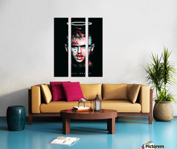 LIL PEEP Split Canvas print