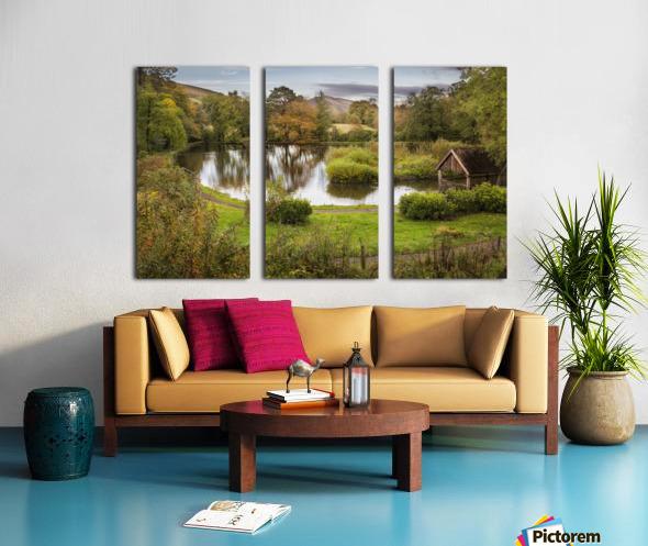 Craig-y-Nos Country park Split Canvas print