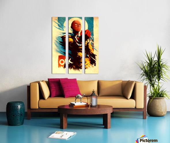 Saitama ONE PUNCH MAN Split Canvas print