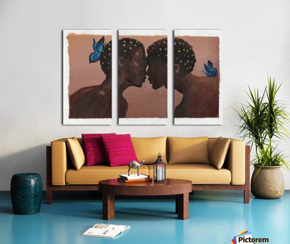 Greatest Gift Split Canvas print