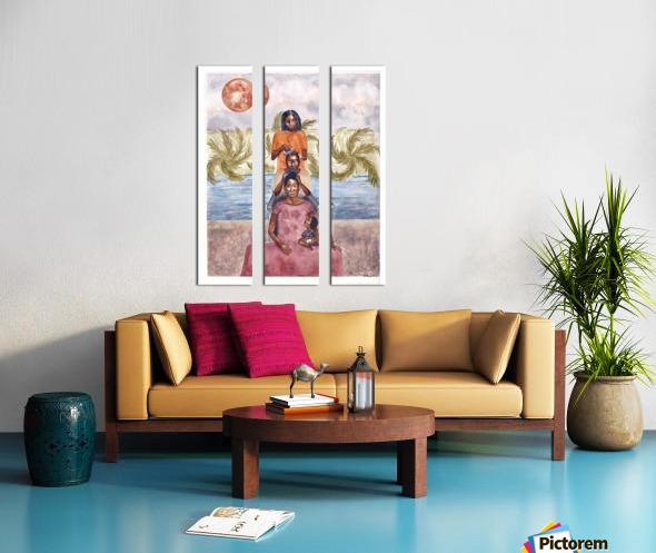 Timeless Split Canvas print